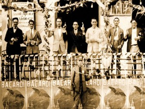 Bacardi promotion in Havana, circa 1920.