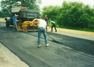 pave a road
