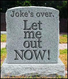 jokes over