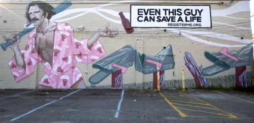 Martin-Agency-Donate-Life-worlds-biggest-asshole-mural