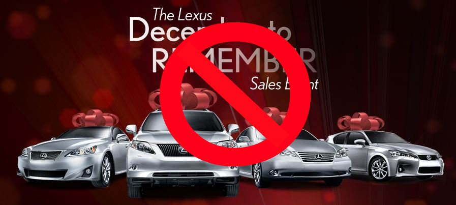 Lexus Dec to Remember