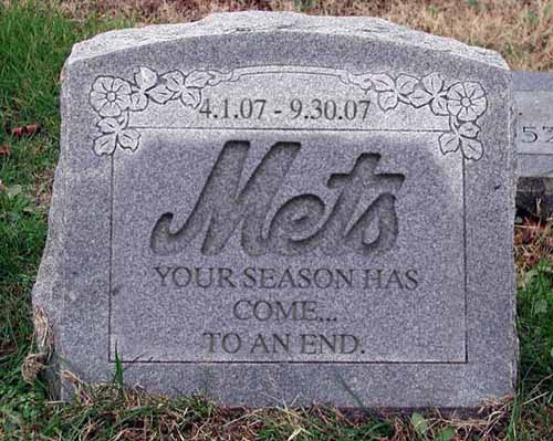 Mets tomb