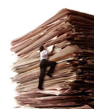 August 3 - climb-stack-of-paper