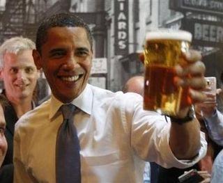 August 21 - obama beer