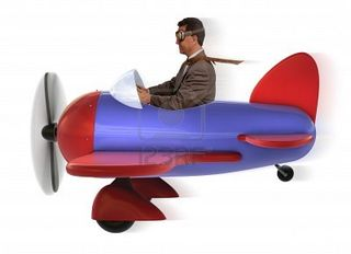 9519743-adult-man-in-toy-airplane-on-white-background