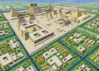 Tenochtitlan urban plan